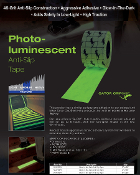 "GLOW In The Dark Non Skid Tape - 1"" 2"" 4"" 6"" (CASES)"