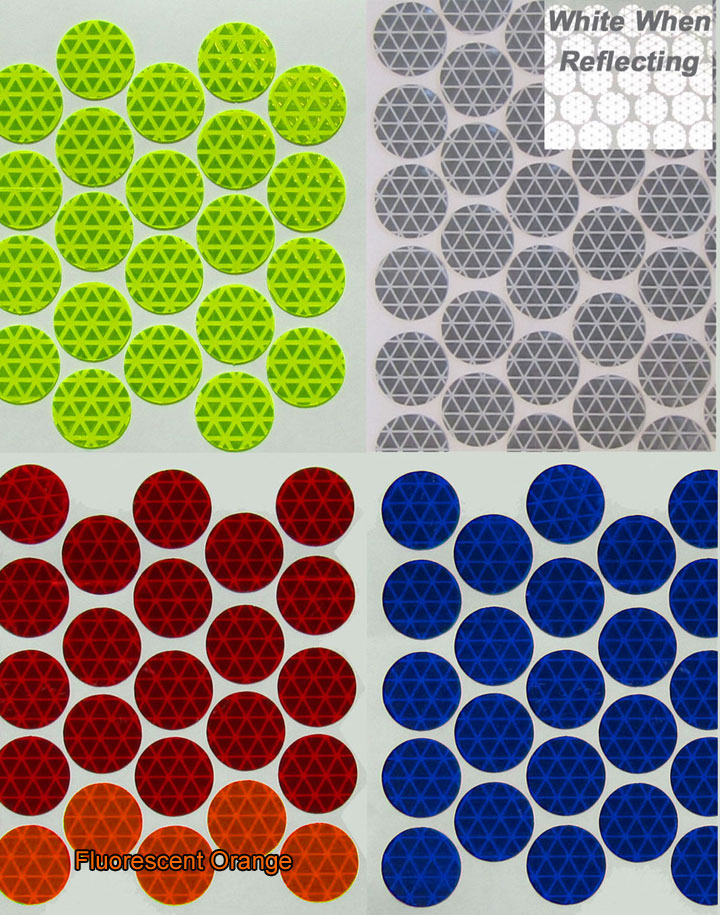 Reflective Diamond Plate Dots Circles