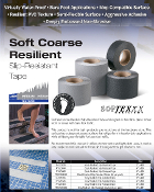 Soft Resilient Bath Tub Non Skid Tape BLACK, WHITE, GREY (CASES)