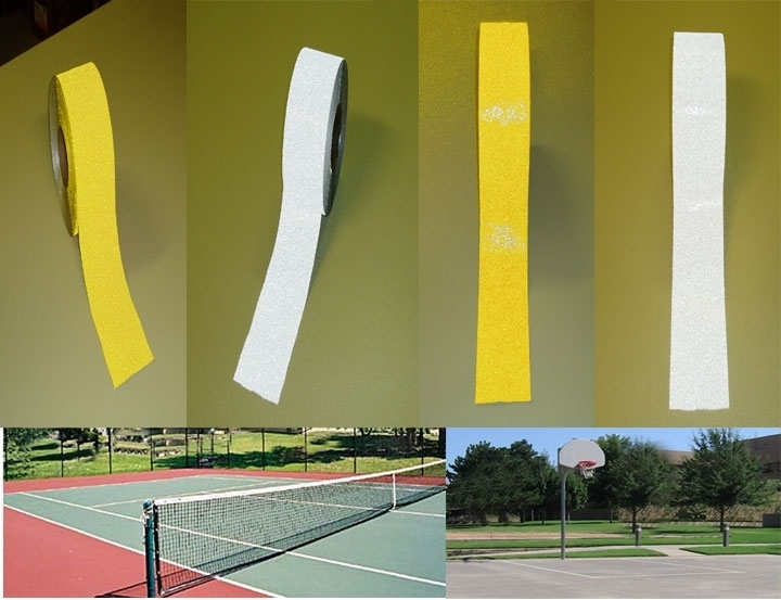 court marking tape pickle ball